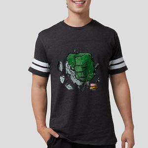 Hulk Fist Dark Mens Football Shirt