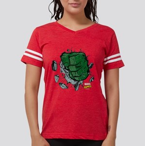 Hulk Fist Dark Womens Football Shirt