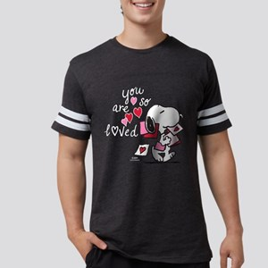 Snoopy - You Are So Loved Mens Football Shirt