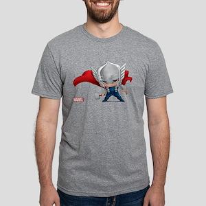 Chibi Thor Mens Tri-blend T-Shirt