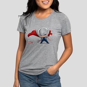 Chibi Thor Womens Tri-blend T-Shirt