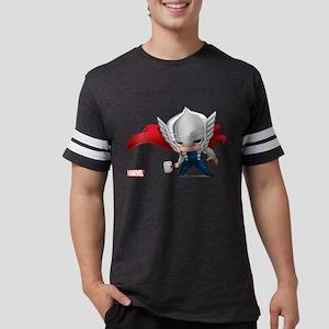 Chibi Thor Mens Football Shirt