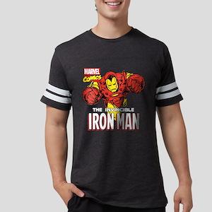 Retro Iron Man Mens Football Shirt
