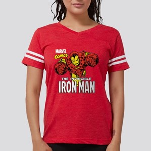 Retro Iron Man Womens Football Shirt
