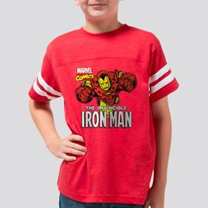 Retro Iron Man Youth Football Shirt