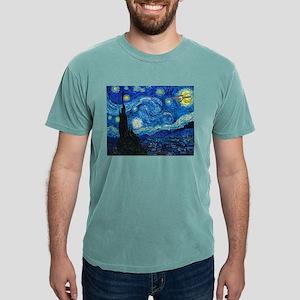 van-gogh-starry-trekkie- Mens Comfort Colors Shirt