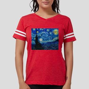 van-gogh-starry-trekkie-nigh Womens Football Shirt