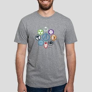 AvengersIcons dark Mens Tri-blend T-Shirt