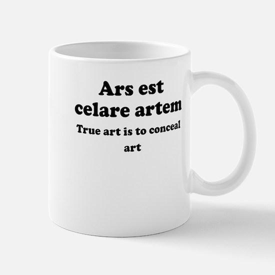Ars est celare artem Small Mug