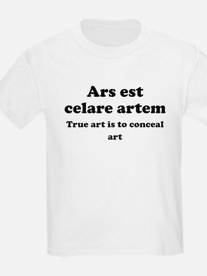 Ars est celare artem T-Shirt