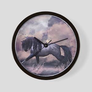 Fantasy Horse Equine Art Wall Clock