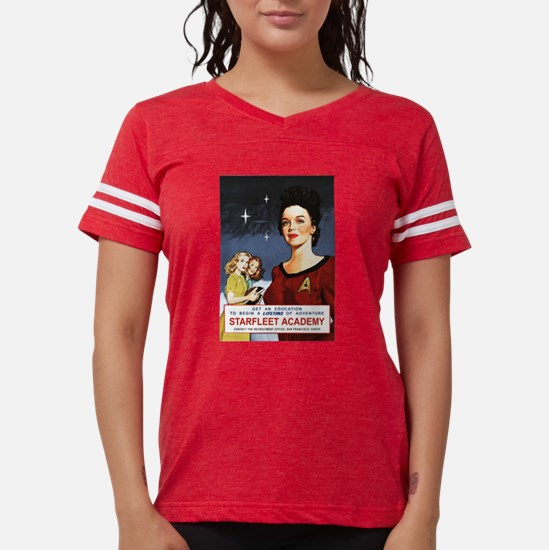 star-trek_vintage-starfleet- Womens Football Shirt