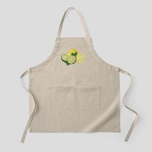 Lemons And Limes Apron