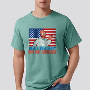 Futurama Why Not Zoidber Mens Comfort Colors Shirt