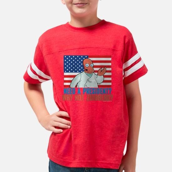 Futurama Why Not Zoidberg Dar Youth Football Shirt