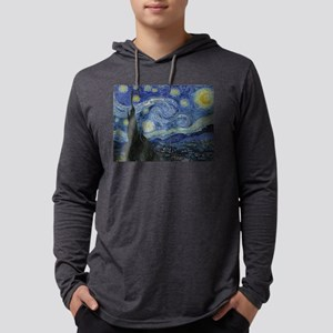 starry trek night Mens Hooded Shirt