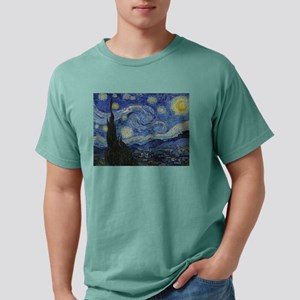 starry trek night Mens Comfort Colors Shirt