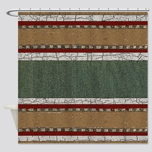 Western Pillow 36 Shower Curtain
