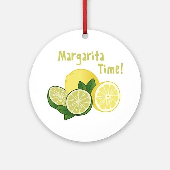 Margarita Time Ornament (Round)