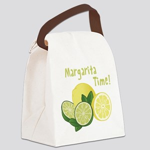 Margarita Time Canvas Lunch Bag