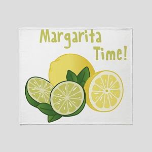 Margarita Time Throw Blanket