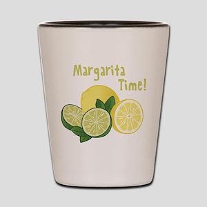 Margarita Time Shot Glass