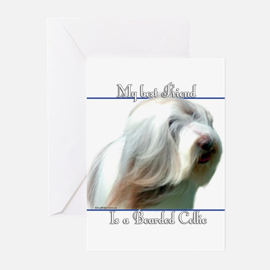 Bearded Best Friend2 Greeting Cards (Pk of 10)