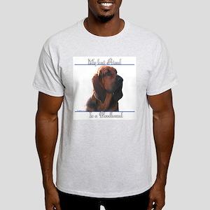 Bloodhound Best Friend2 Ash Grey T-Shirt