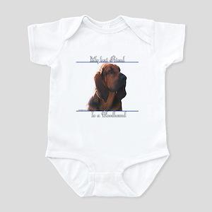 Bloodhound Best Friend2 Infant Bodysuit