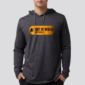 Shut Up Wesley - Star Trek Quote Mens Hooded Shirt