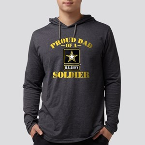 proudarmydad336b Mens Hooded Shirt