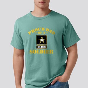 proudarmydad336b Mens Comfort Colors Shirt