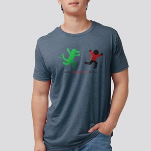 Run, Redshirt, Run! Mens Tri-blend T-Shirt