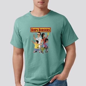 Bob's Burger Hero Family Mens Comfort Colors Shirt