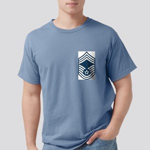 USAF-CMSgt-Blue Mens Comfort Colors Shirt