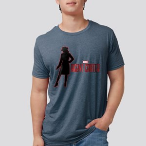 Agent Carter Red Mens Tri-blend T-Shirt