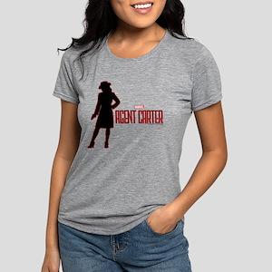 Agent Carter Red Womens Tri-blend T-Shirt