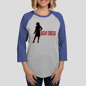 Agent Carter Red Womens Baseball Tee