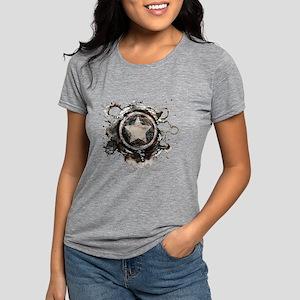9496631-MC-captainamerica Womens Tri-blend T-Shirt