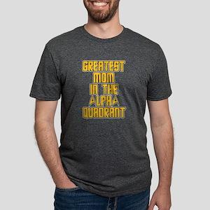 Star Trek Alpha Quadrant Mo Mens Tri-blend T-Shirt