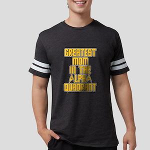 Star Trek Alpha Quadrant Mom Mens Football Shirt