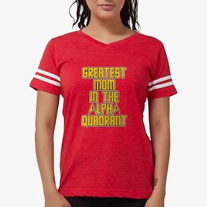 Star Trek Alpha Quadrant Mom Womens Football Shirt