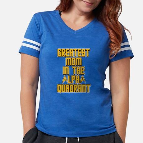 Star Trek Alpha Quadrent Mom Football Shirt