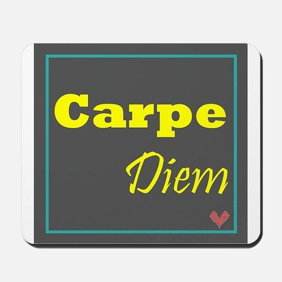 Carpe Diem 1 Mousepad