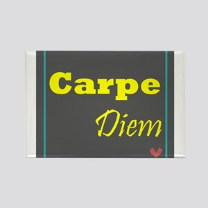 Carpe Diem 1 Rectangle Magnet