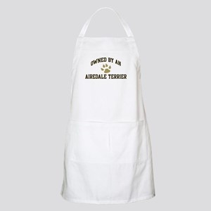 Airedale Terrier: Owned BBQ Apron
