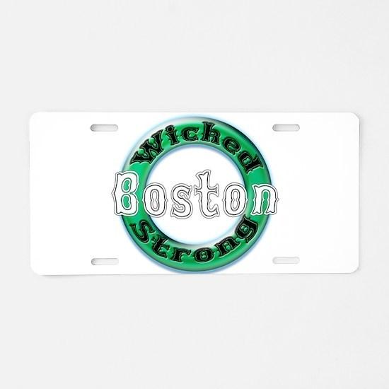 WS Celts Lt Aluminum License Plate