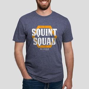 Bones Squint Squad Dark Mens Tri-blend T-Shirt