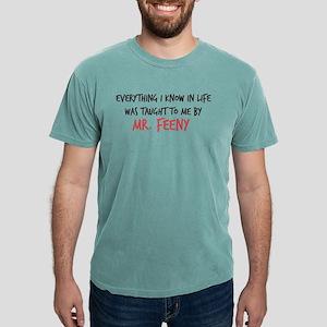 Mr. Feeny Taught Me Mens Comfort Colors Shirt