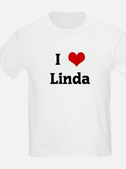 I Love Linda Kids T-Shirt